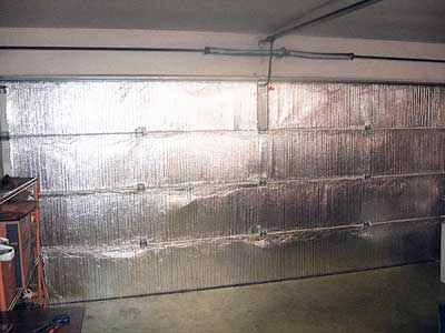garage door insulation tempshield garage door insulation kit